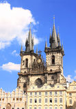 Old Town Square, Tyn Church, Prague Royalty Free Stock Photo