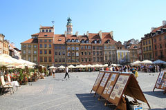 Old town square Royalty Free Stock Images