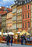 Old Town Square, Warsaw Stock Photo