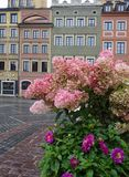 Warsaw Old Town. Old Town square in Warsaw historic district royalty free stock image