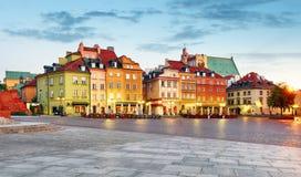 Old town square, Warsaw, Poland Royalty Free Stock Photos
