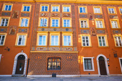 Old town square in Warsaw. Poland Stock Image