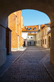 Old town square in Warsaw, Poland Stock Photos