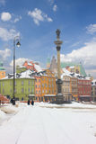 Old town square, Warsaw, Poland Royalty Free Stock Image