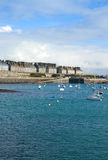 Old town of  St Malo, Brittany, France Royalty Free Stock Photos