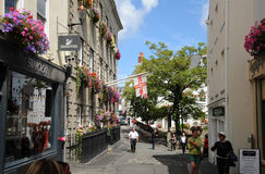 Old town, St peter Port. Guernsey Royalty Free Stock Photography