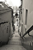 Old Town Stairs Stock Photography
