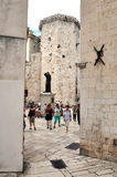 The old town (Stari Grad) in Split, Croatia Stock Photos