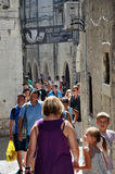 The old town (Stari Grad) in Split, Croatia Royalty Free Stock Images