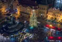 Old Town (Staromestska) square, Prague, Czech Republic Royalty Free Stock Photo