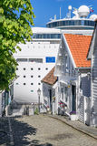 The Old Town of Stavanger Stock Photography