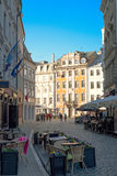 Old town steets of Riga, Latvia Royalty Free Stock Photography