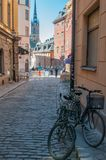 The Old Town of Stockholm Stock Photo