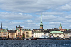 Old Town in Stockholm Royalty Free Stock Image
