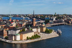 Old Town of Stockholm Stock Photos
