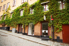 Old town in Stockholm Stock Photography