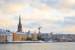 Old Town Stockholm city Sweden Stock Image