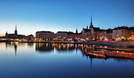 Old Town of Stockholm Stock Photo