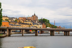 Old town in Stockholm Stock Photo
