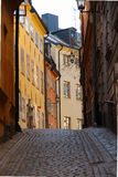 Old Town in Stockholm in springtime Stock Image