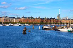 The Old Town in Stockholm, Sweden Stock Images