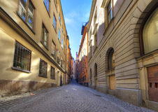 Old town,Stockholm,Sweden Royalty Free Stock Photography