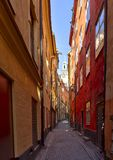 Old town,Stockholm,Sweden Stock Photo