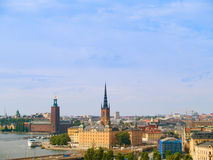 Old town of Stockholm, Sweden Royalty Free Stock Photography