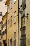 Old town in Stockholm. Sweden.  Royalty Free Stock Photos