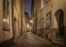 Old Town, Stockholm. Sweden. Royalty Free Stock Image