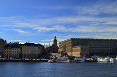 Old Town in Stockholm, Sweden Royalty Free Stock Image