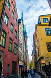 Old town Stockholm, Sweden Stock Images