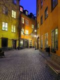 The Old town, Stockholm, Sweden stock image