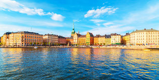 Old Town in Stockholm, Sweden Royalty Free Stock Images