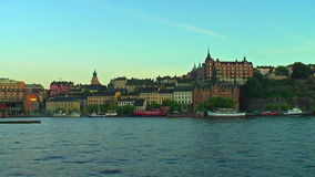 The Old Town in Stockholm, Sweden stock footage