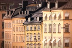 Old Town in Stockholm Royalty Free Stock Photo