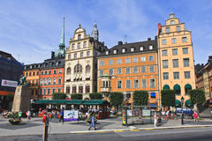 Old Town Stockholm, Sweden Stock Photos