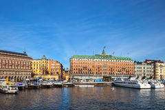 The Old Town in Stockholm, Sweden Stock Photos