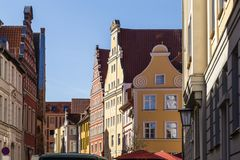 Old town of Stralsund, Germany stock photo