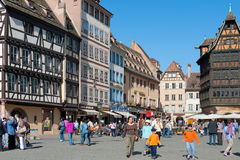 Old town of Strasbourg Stock Photos