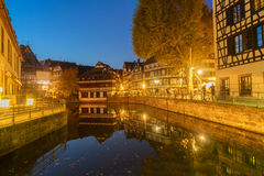 Old town of Strasbourg, France Stock Images
