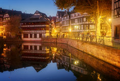 Old town of Strasbourg, France Royalty Free Stock Images