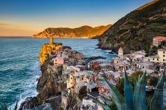 Vernazza in Cinque Terre, Italy Stock Image