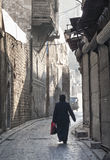 Street in aleppo syria Stock Photos