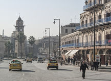 Street in aleppo syria Royalty Free Stock Images