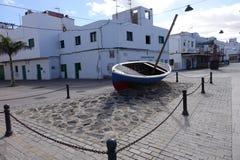 Old town street art Corralejo Fuerteventura canary islands Spain Royalty Free Stock Photography