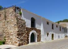 Old town street, Faro, Portugal Stock Photos