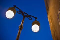 Old Town street light Stock Image