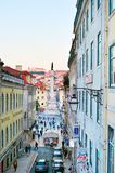 Old Town street, Lisbon Royalty Free Stock Image