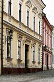 Old town street in Veszprem Royalty Free Stock Images